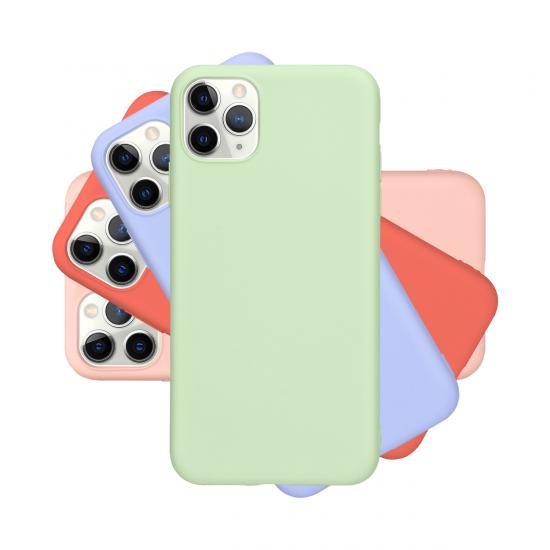 soft silicone case for iphone 12 durable phone cover
