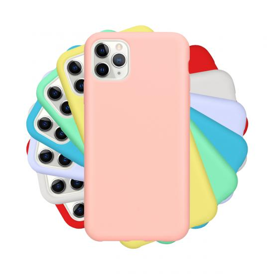 colorful Liquid Silicone Case for IPhone 11