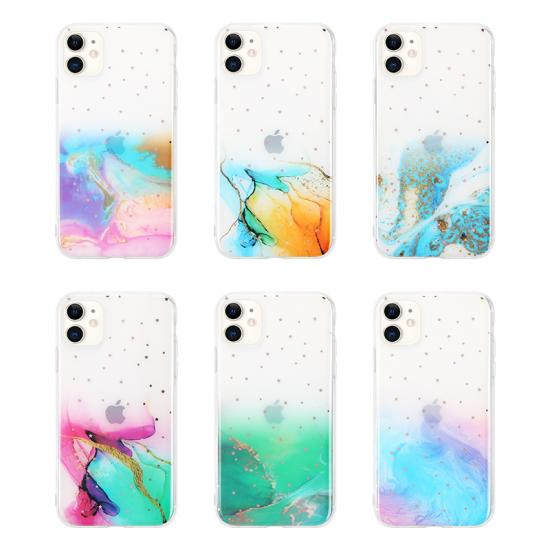 Fantasy Twinkling Design Marble IMD phone case