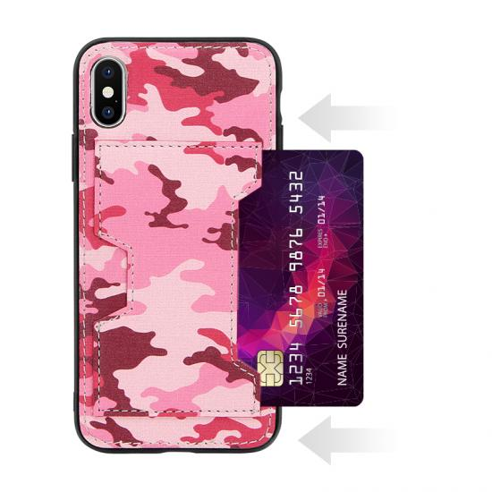 Camouflage army military PU Leather Mobile Phone Wallet Case