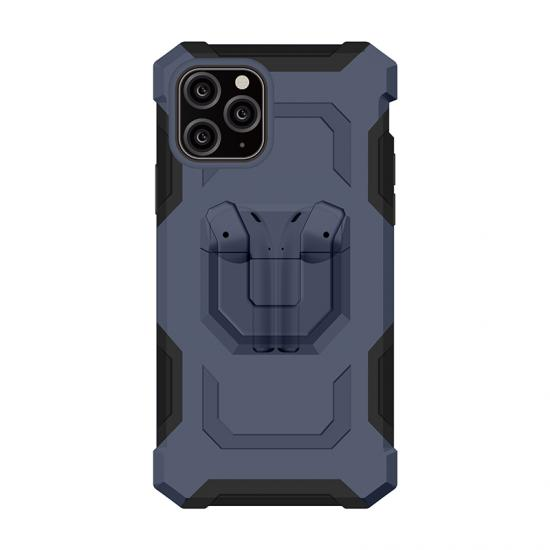 Custom Unique Military shockproof case pouch matte clear cover