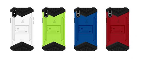 2 in 1  PC TPU Anti Shock Heavy duty Armor Phone Case