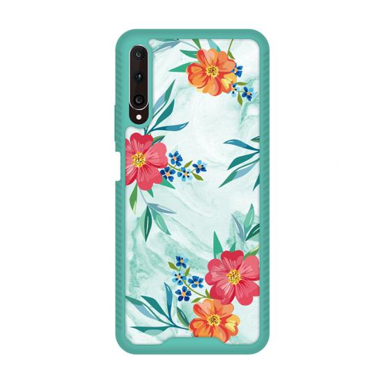 Nice Painted Floral UV print imd tpu case phone cover