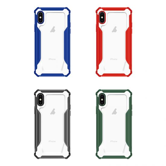 Clear acrylic bumper PC Reliable quality belt clip phone case