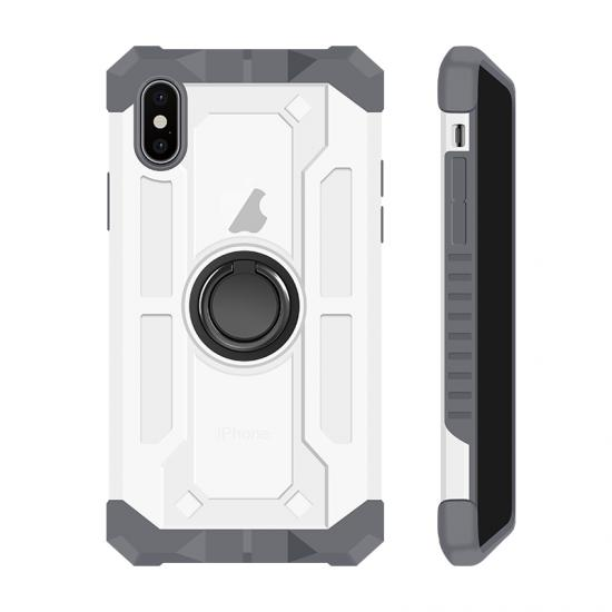 Anti dust design cover 2 in 1 hybrid shockproof cell phone case