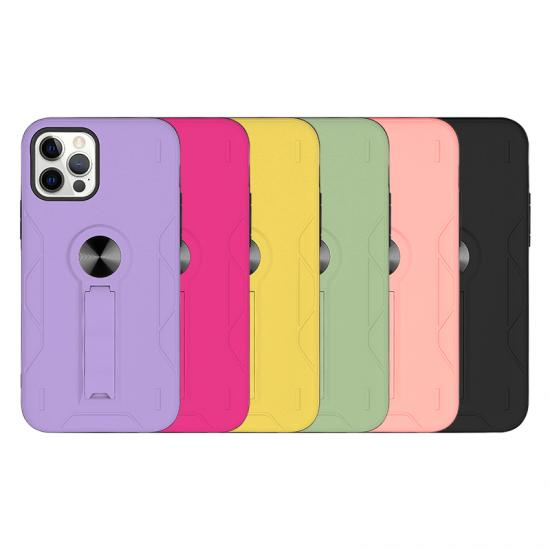 Hidden finger loop Hybrid Phone case for Iphone