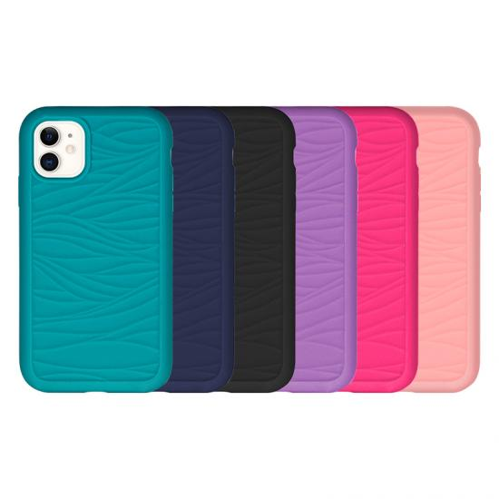 flow mark texture back covers Hybrid Phone case for Iphone
